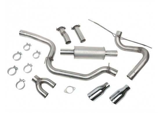 2012-2015 Ford Focus ROUSH High-Flow Exhaust Kit