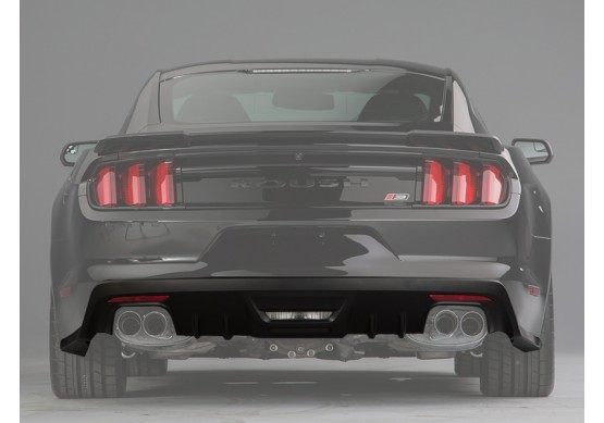 2015-2016 Ford Mustang ROUSH Rear Valance Kit  Prepped for Backup Sensors