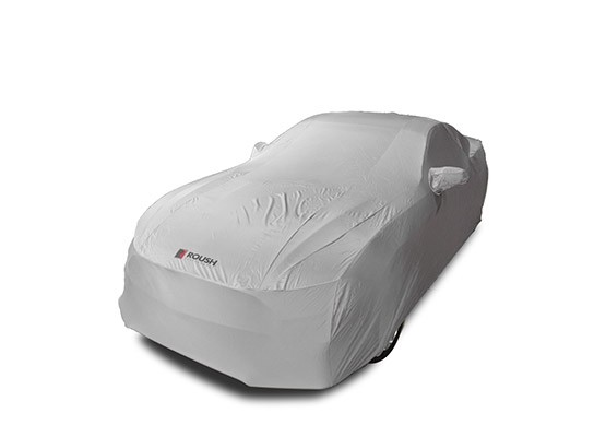 ROUSH Indoor Satin Stretch Mustang Car Cover (2015-2019)