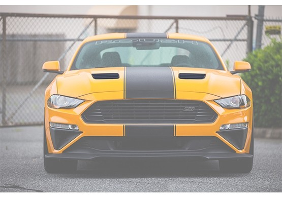 2018-2019 ROUSH Mustang Hood Heat Extractors