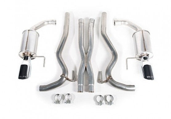 2015-2017 Mustang 5.0L V8 ROUSH Cat-Back Exhaust Kit Components