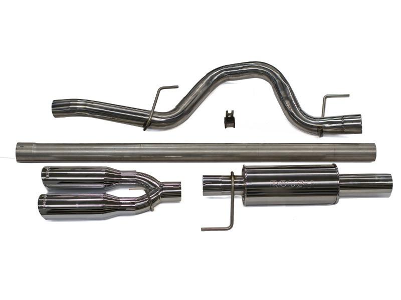 f 150 exhaust for 6 2l 5 0l 3 5l 2011 2014 rear exit rh roushperformance com