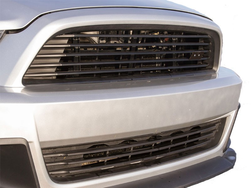 2013 2014 ford mustang roush lower grille kit roush - 2013 mustang interior accessories ...