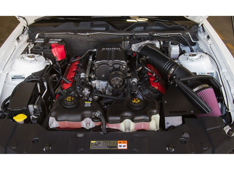 2011 2014 Roush Mustang Supercharger Phase 3 675 Hp