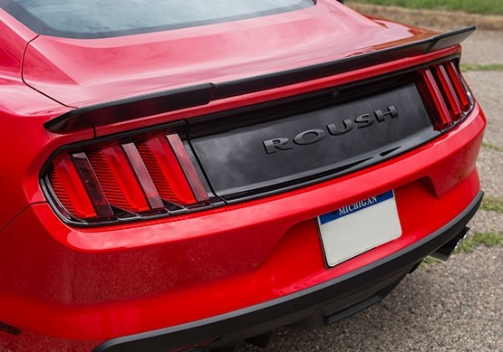2015 2019 Mustang Roush Rear Spoiler Coupe Only Roush Performance