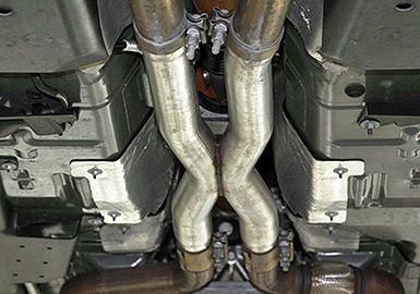 2017 2019 Mustang Gt 5 0l Coyote V8 Roush Resonator Delete X Pipe