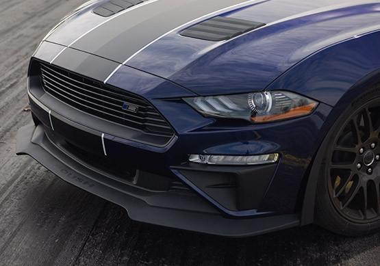 Roush Mustang Wheels >> 2018 2020 Roush Mustang Chin Spoiler And Wheel Shroud 3 Piece Aero Kit