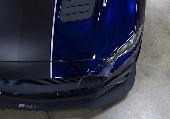2018-2019 ROUSH Mustang Chin Spoiler and Wheel Shroud 3