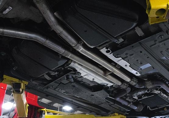 2015-2019 Mustang 5 0L V8 ROUSH Resonator Delete H-Pipe