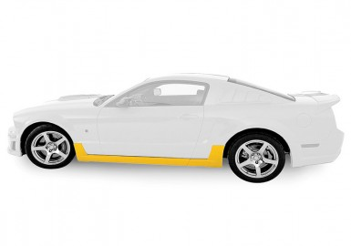 Mustang Rocker Kit (2005-2009) - Unpainted