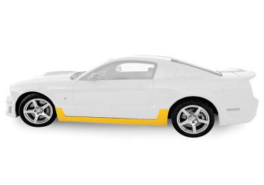 Mustang Rocker Kit (2005-2009) - Unpainted