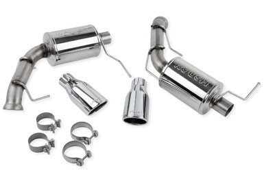 V6 Mustang ROUSH Exhaust Kit with Round Tips (2011-2014)