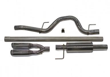 F-150 ROUSH Exhaust - 6.2L /5.0L/3.5L Rear Exit (2011-2014)