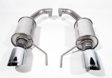 2015-2019 Mustang 3.7L V6 and 2.3L Ecoboost ROUSH Exhaust Kit - Round Tip (304SS)