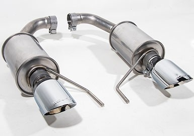 2015-2021 Mustang 3.7L V6 and 2.3L Ecoboost ROUSH Exhaust Kit - Round Tip (304SS)