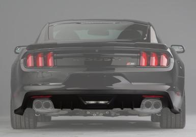 2015-2017 Ford Mustang ROUSH Rear Valance Kit - Not Prepped for Backup Sensors