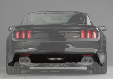 2015-2017 Ford Mustang ROUSH Rear Valance Kit  - Prepped for Backup Sensors