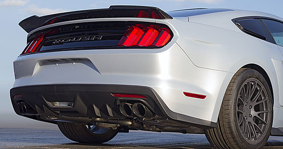2017 ROUSH P-51 Mustang Rear