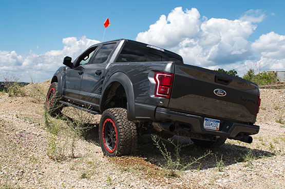 2018 ROUSH Raptor Off-Road Lifestyle