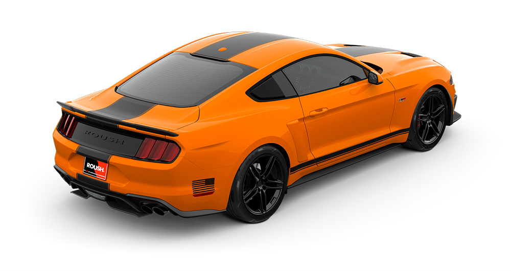 2018 ROUSH Stage 2 Mustang Passenger Rear