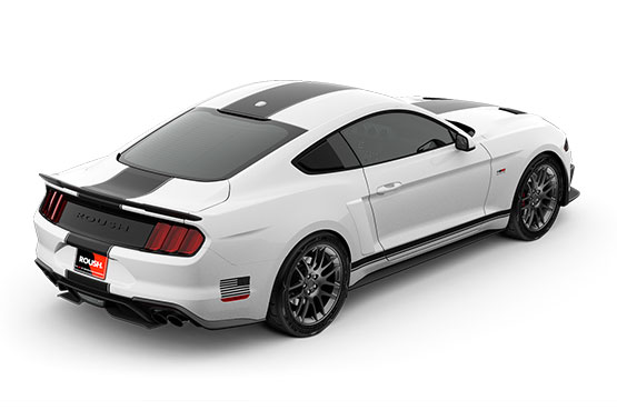 2019 ROUSH Stage 2 Mustang Rear View