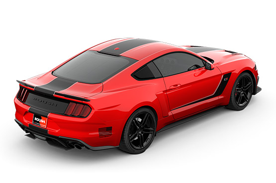 2019 ROUSH Stage 3 Mustang Rear View