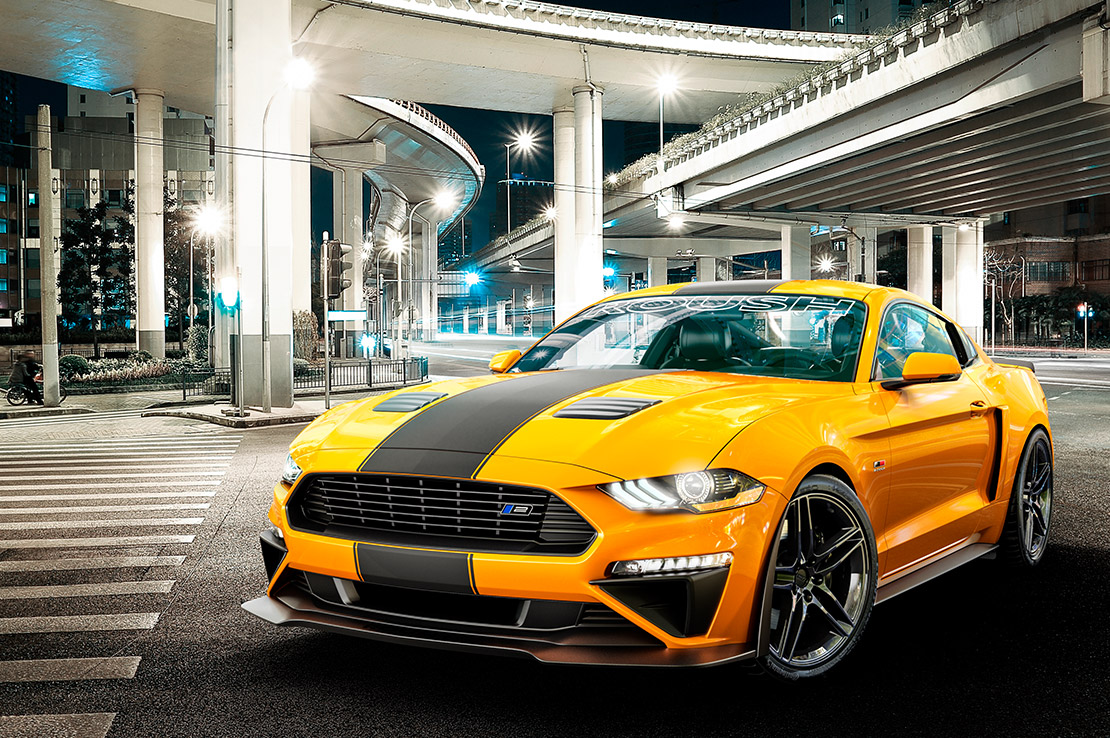 2019 ROUSH Stage 2 Mustang City Lifestyle