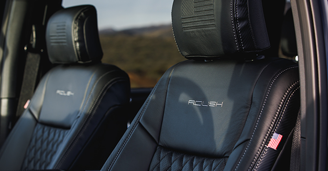 2020 ROUSH F-150 5.11 Tactical Edition Interior Leather
