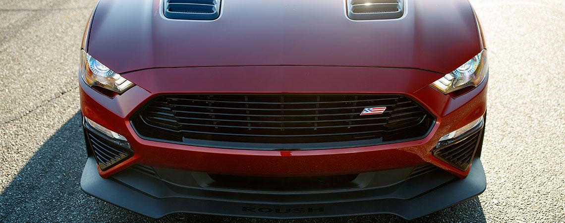 Mustangová maska Jack Roush Edition 2020
