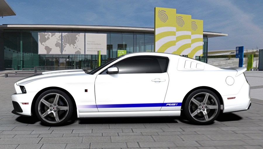 2013 ROUSH Stage 1 Mustang