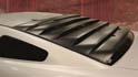 Retro ROUSH Rear Window Louvers Mod Up Mustangs