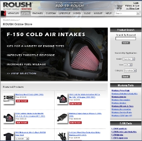 New ROUSH Performance Site Launched