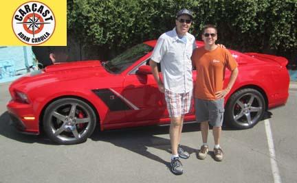 Check Out Adam Carolla's CarCast Walk Around