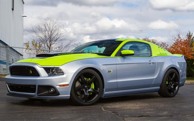 ROUSH Performance Debuts 700HP Mustang at SEMA 2012