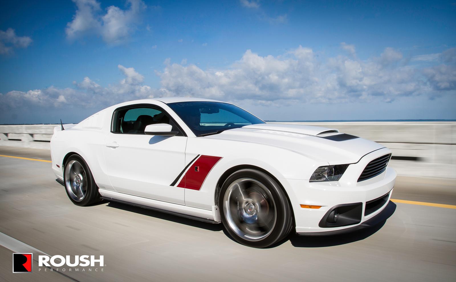 ROUSH Performance: 2014 ROUSH Mustang Starting Field