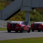 No. 61 and 51 Mustangs On Track - Lime Rock 2013
