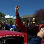 Billy Johnson Victory Celebration - Lime Rock 2013