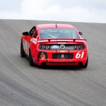 No. 61 Mustang Climbing Uphill #1 - Lime Rock 2013