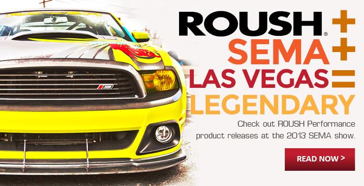 ROUSH Performance 2013 SEMA News & Press Releases