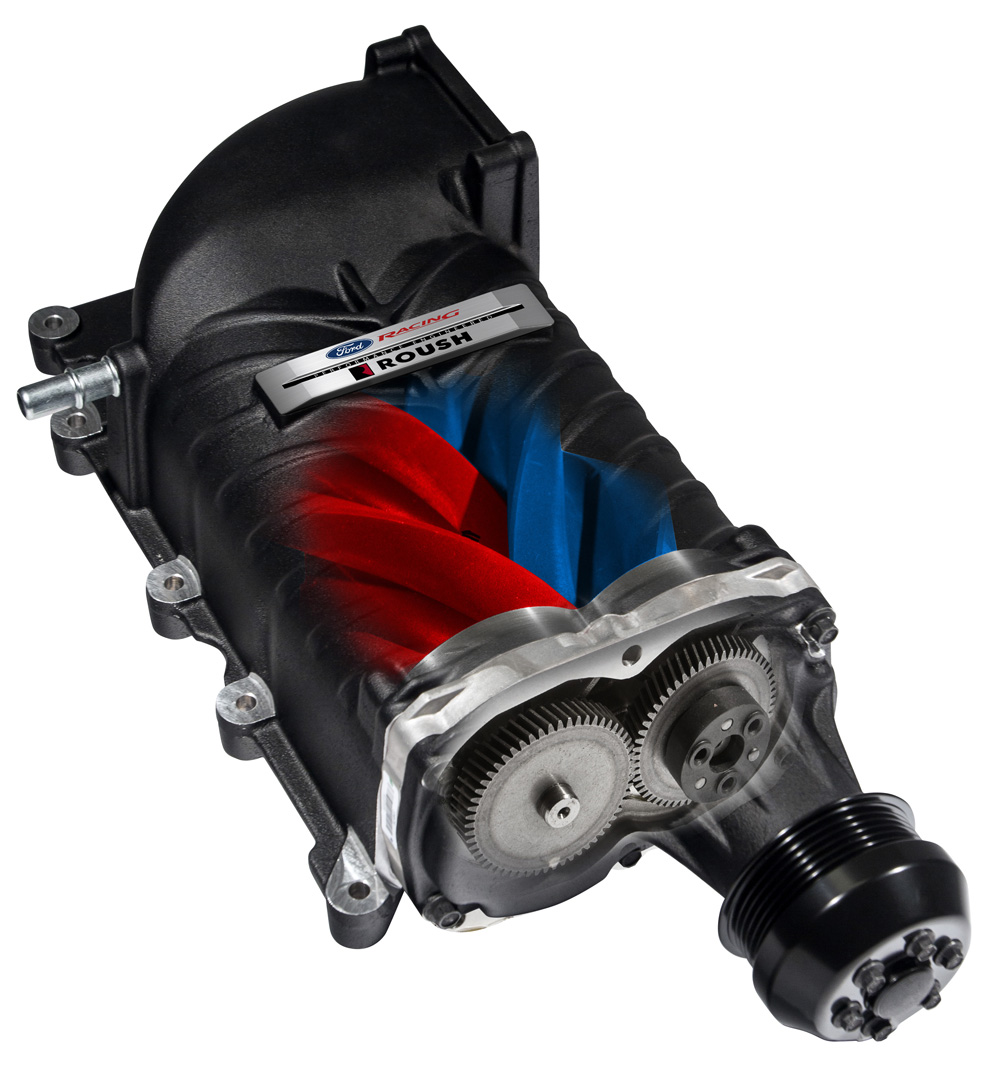 Check out our legendary ROUSH Supercharger kits, including the new 2015 Mustang Phase 1 Kit.