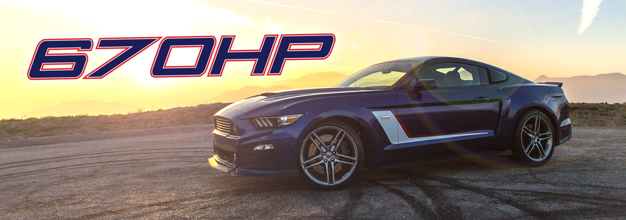 ROUSH Stage 3 Mustang Produces 670 HP