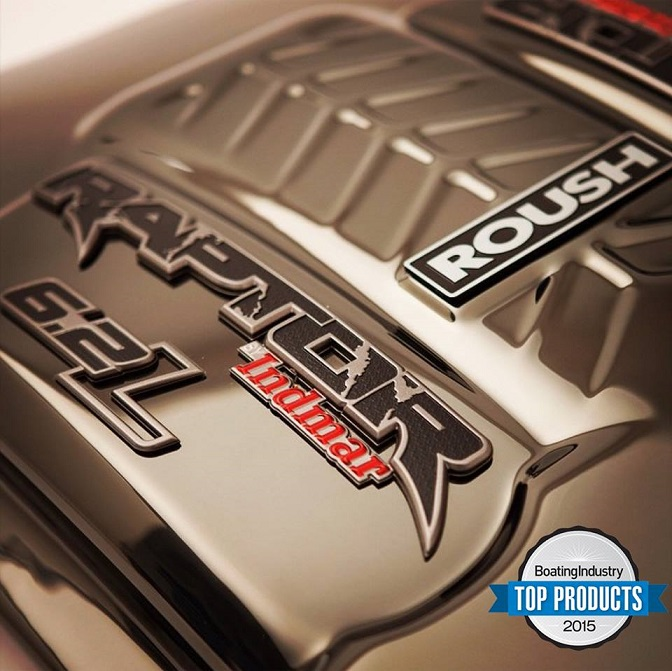 Indmar's ROUSHcharged Raptor 575 Named a Boating Industry 2015 Top Product