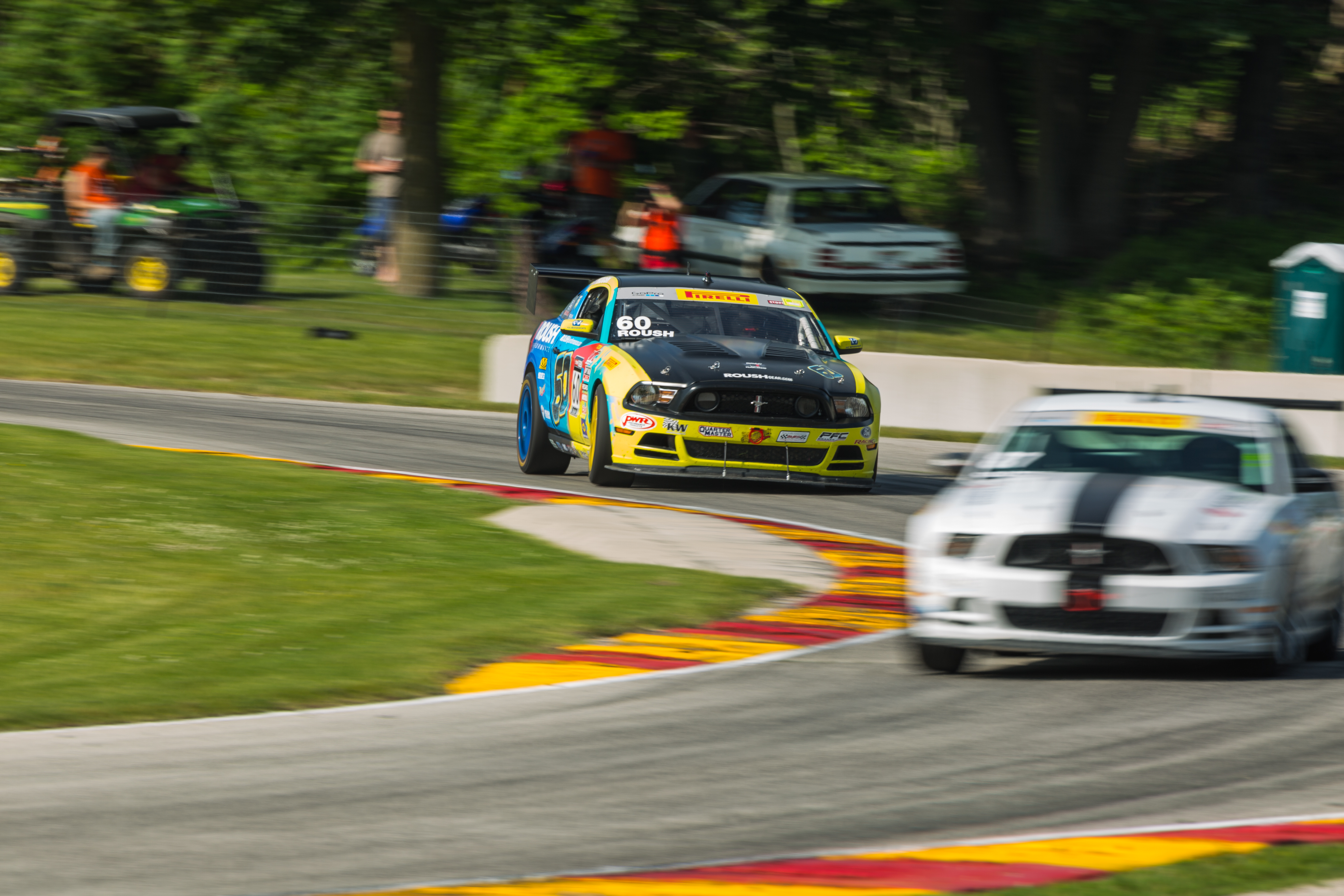 The ROUSH Performance Road Racing Team at Road America