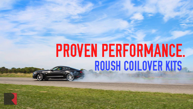 ROUSH 2015 Adjustable Coilover Suspension Delivers 1.07 Lateral G's