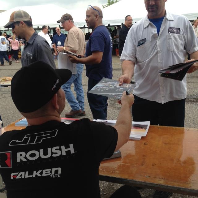 ROUSH Summer Luncheon Featured Drift Drivers
