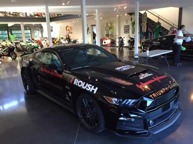 Veterans in the drivers seat with ROUSH at the Triumph Games