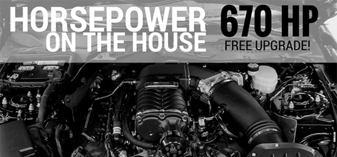 Free ROUSH Diagnostic Tool and Free 670 HP Upgrade!
