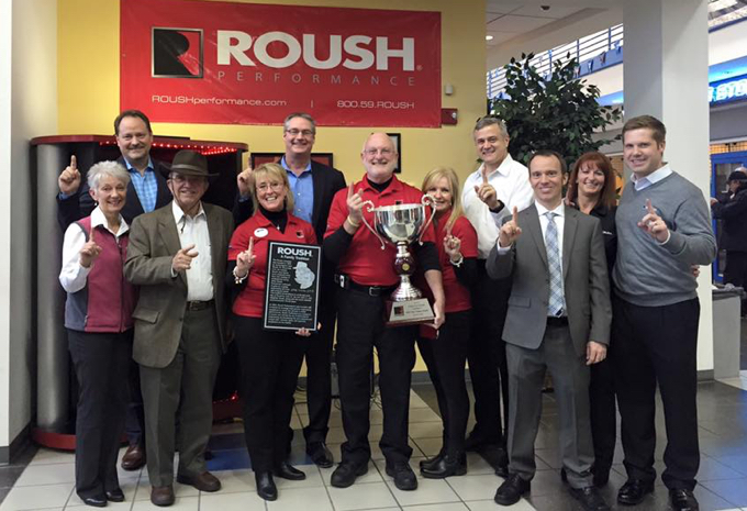 Tindol Ford Roush Wins #1 ROUSH Performance Dealer!